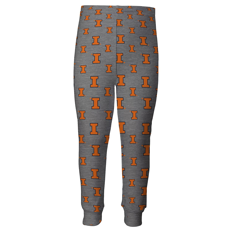 Outerstuff Toddler University of Illinois Pajama Set Boys Sleepwear Set
