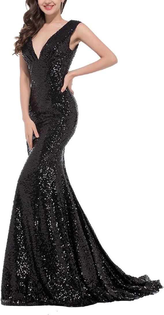 Amazon.com: OYISHA FM49 - Vestido largo para mujer, diseño ...