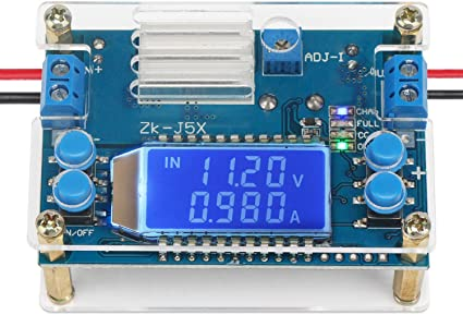 1.2 to 6.5V adjustable 1A Battery powered adjustable power supply board