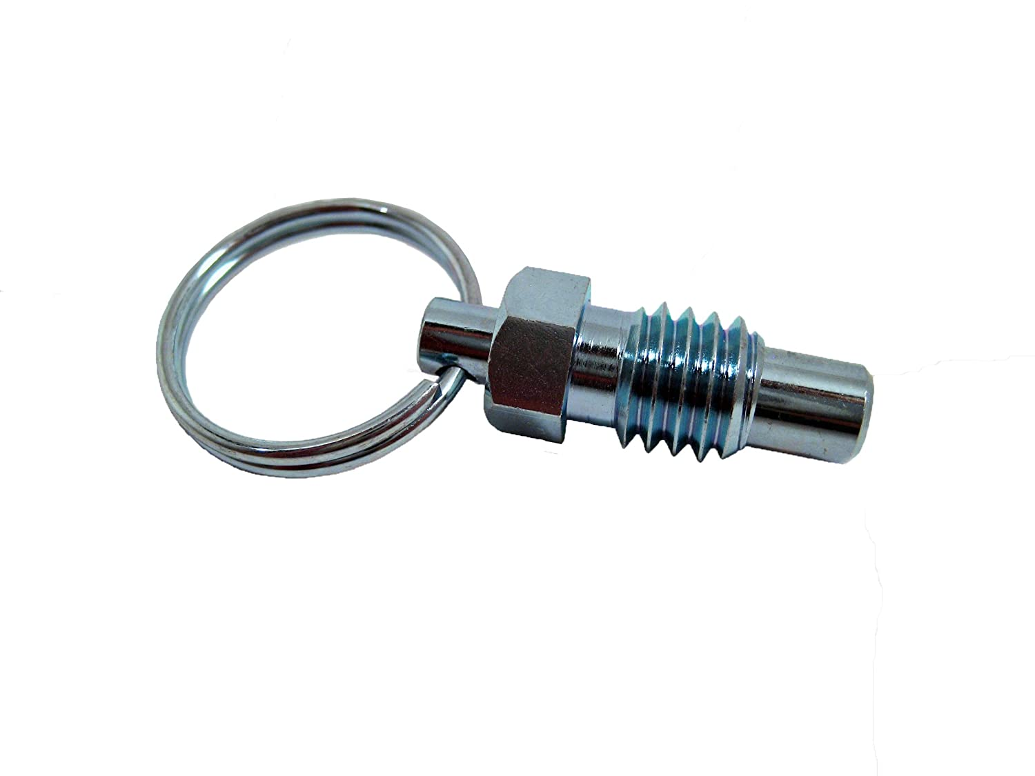 0.31 Thread Length 1//4-20 Thread Size SPRP Series Steel Non Lock-Out Type Inch Size Stubby Hand Retractable Spring Plunger with Pull Ring