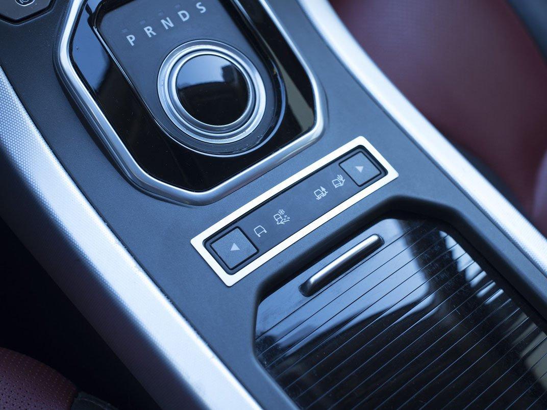 1 Pieza Controles Del Terreno Marco Inox Metal Cepillado Interior Decoraci/ón Personalizados Hechos a Medida Tuning Cubierta De Acero para 2011-2018 Evoque