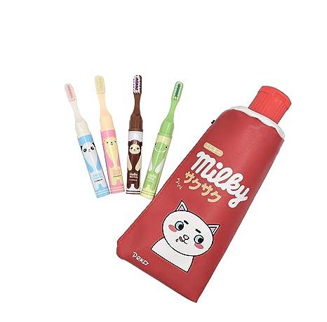 Amazon.com: Marsha Q - Estuche para lápices, diseño de pasta ...