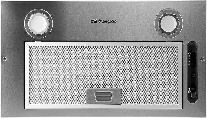 Orbegozo CA 07260 A IN - Campana extractora cassette, 52 cm, acero inoxidable, extracción: 289.7 m3/h, 3 niveles de potencia, 65 W: Amazon.es: Hogar