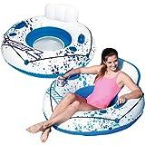 Bestway CoolerZ Luxury 47-Inch Tube Swimming Pool Float, 2-Pack