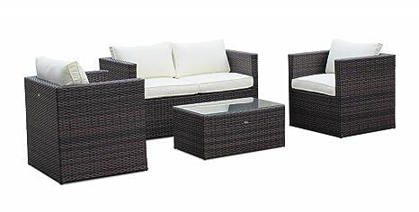 Alices Garden - Sofa de jardín, conjunto sofa de exterior ...