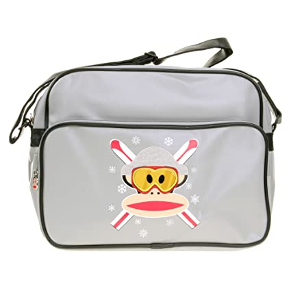 Paul Frank Julius Mono de esquí Gris Messenger Bag: Amazon ...