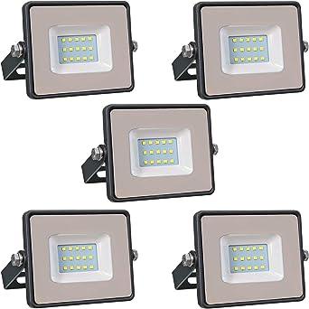 Conjunto de 5 - ZONE LED SET - 10W - Led Foco, Proyector Led - Luz ...