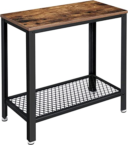 VASAGLE Industrial Side Table