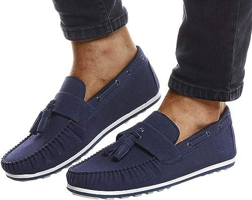 Leif Nelson Herren Mokassins Schuhe für Freizeit