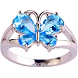 Psiroy Women's 925 Sterling Silver 2.25cttw Garnet Filled Ring