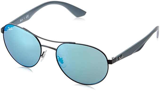 ca2ee1c633 Amazon.com  Ray-Ban Men s Metal Unisex Sunglass Round