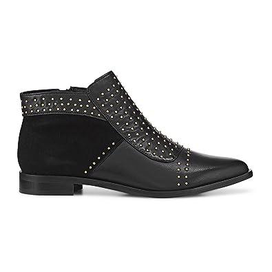 ef1800261765ea Cox Damen Damen Ankle-Boots aus Leder