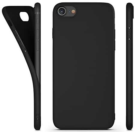 amazonbasics coque de protection fine en pu pour iphone 7 plus noir