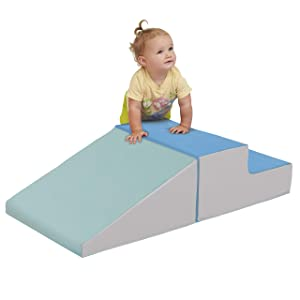 ECR4Kids SoftZone Little Me Play Climb and Slide, Contemporary (2-Piece)
