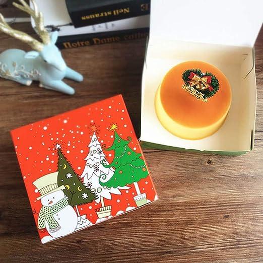 YuzhouGJ Funcional Dibujos Bonitos Galletas de Navidad Paquete ...