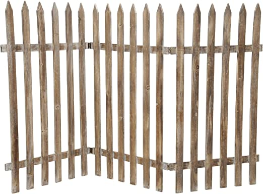 Valla/madera rígida 60 cm x 120 cm: Amazon.es: Jardín