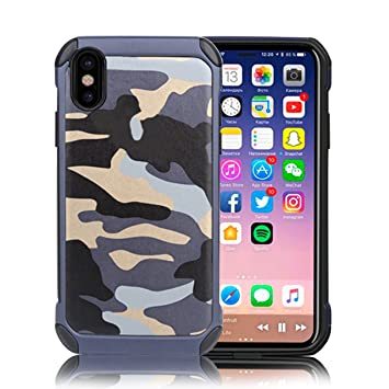 Iphone X HülleVandot Iphone Camouflage MilitärKamera X 2IEDYbWe9H