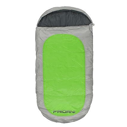Fridani PG 180 K Camping Saco de Dormir de hasta 12 °C XXL Outdoor Saco