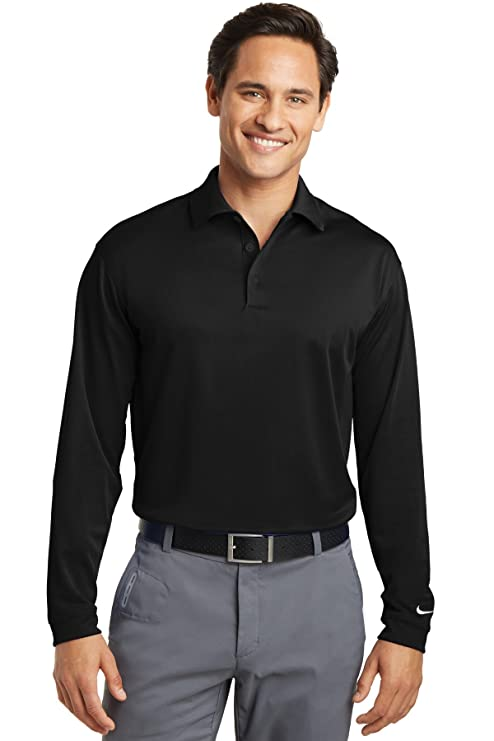a190dea74e1f Image Unavailable. Image not available for. Color  Nike Golf Long Sleeve Dri -FIT Stretch Tech Polo.