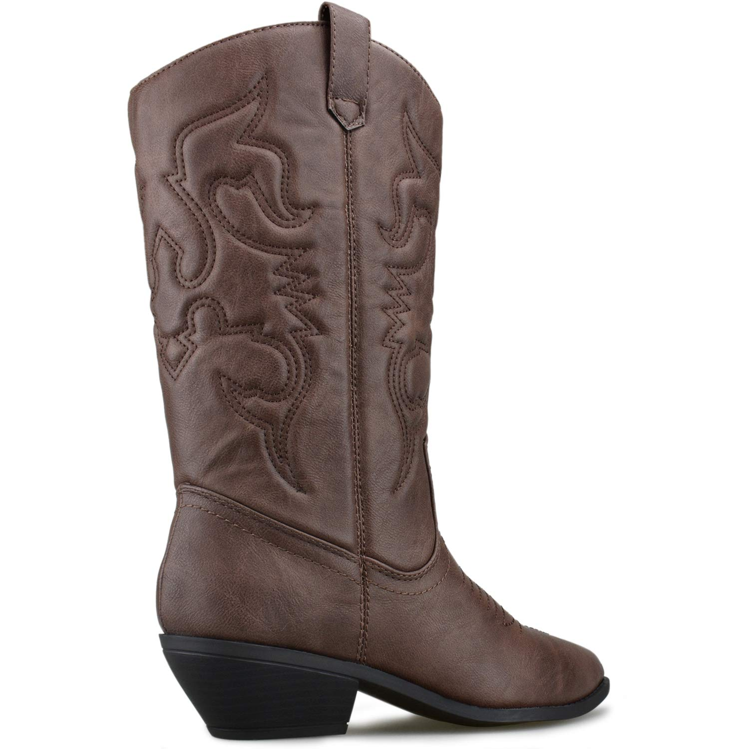 1dca8a5503e Premier Standard - Western Cowboy Pointed Toe Knee High Pull On Tabs ...
