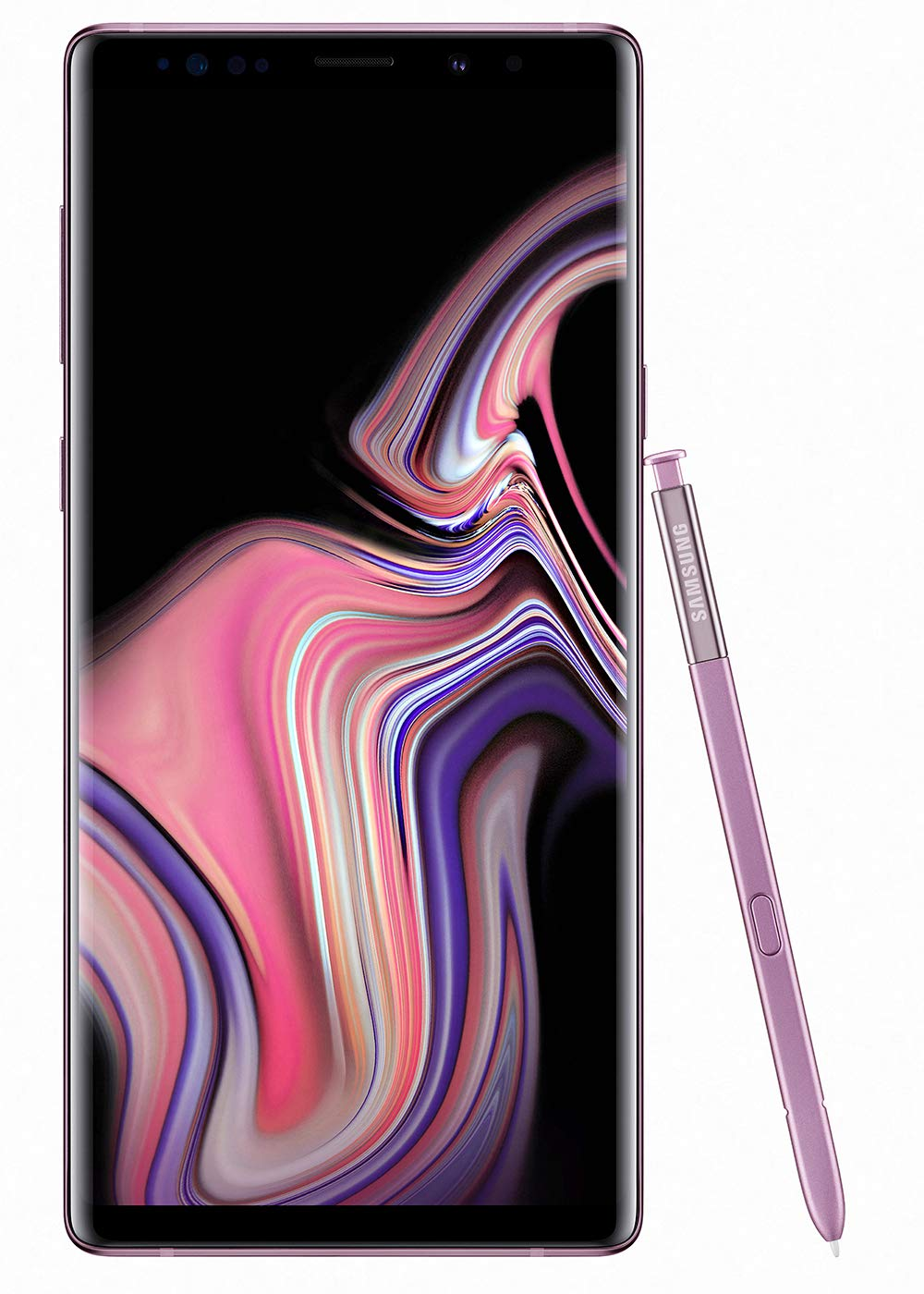 Samsung Galaxy Note 9 (SM-N960F/DS) 6GB / 128GB (Lavender Purple) 6.4-inches LTE Dual SIM (GSM ONLY, NO CDMA) Factory Unlocked - International Stock No Warranty by Samsung