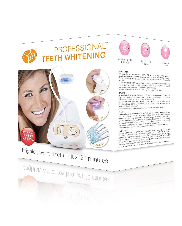 Rio DCWH7 - Blanqueador de dientes profesional: Amazon.es: Salud y cuidado personal