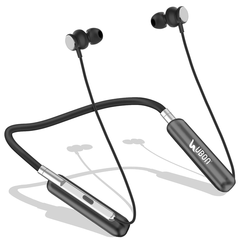 Ubon Cl 35 Wireless Neckband Earphone In Ear Magnetic Amazon In Electronics