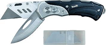 Cutter-Messer Kwb Schweres Universal-Messer Inkl Klappbar Zwei Extra Scharfe