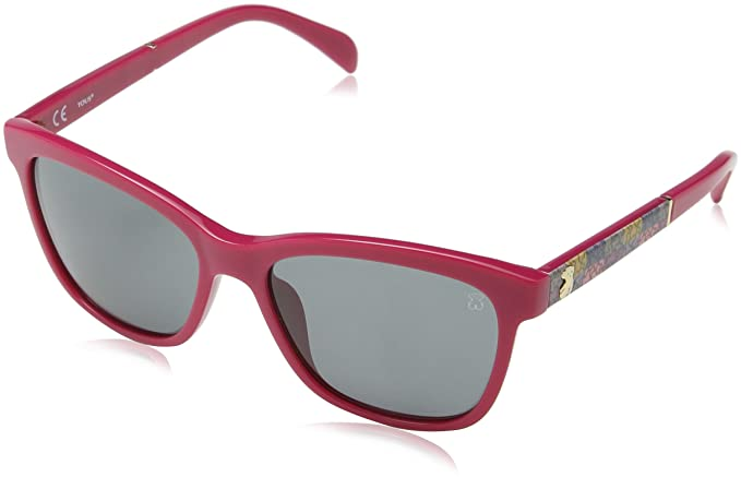 TOUS STO905-5509M3 Gafas de Sol, Shiny Fuchsia, 55 para Mujer