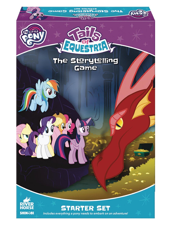Shinobi 7 My Little Pony: Tails of Equestria The Storytelling Game Starter Set