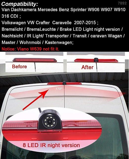 Auto Rückfahrkamera Mit Nachtsicht 170 Winkel Elektronik