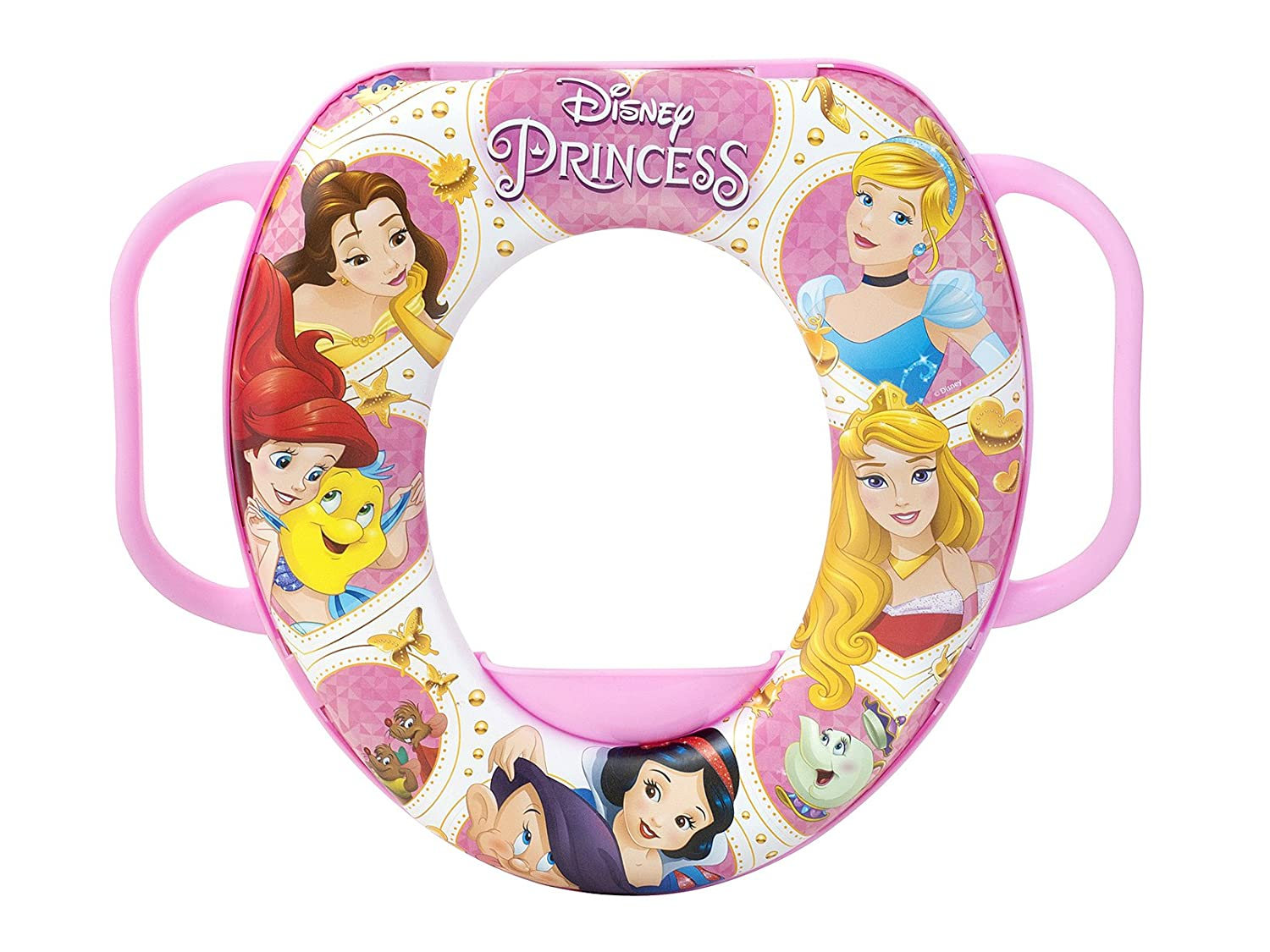 lulabi 7994 Disney Princess réducteur WC Soft, multicolore 5700