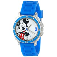 Kids' MK1266 Watch with Blue Rubber Band