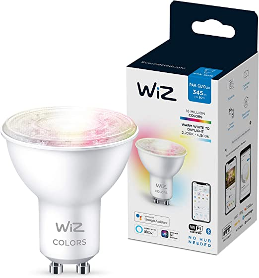 WiZ Bombilla G2 Colors GU10