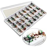 Sougayilang Colorful Assortment Dry Fly Fishing Flies