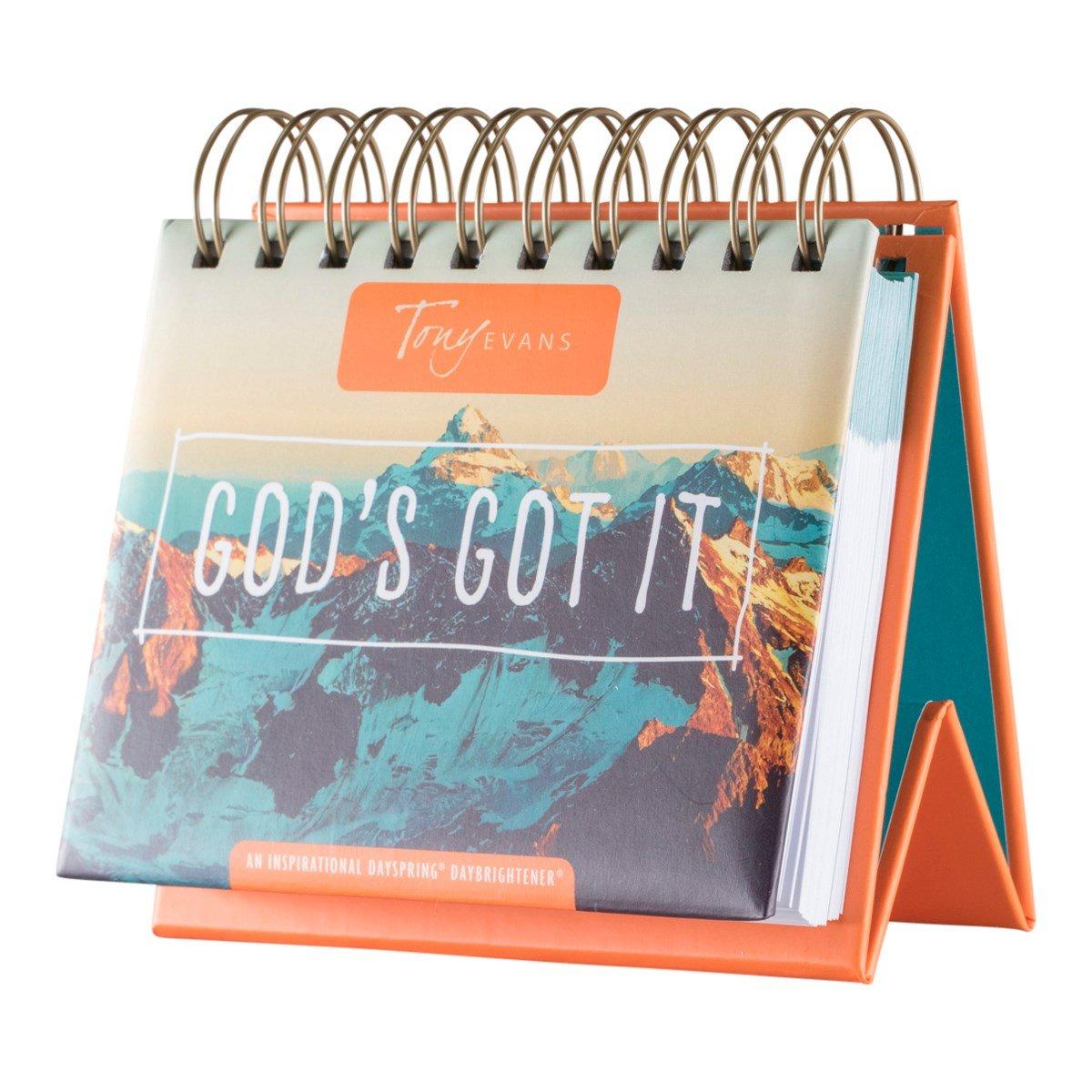 Flip Calendar - Tony Evan's God's Got It
