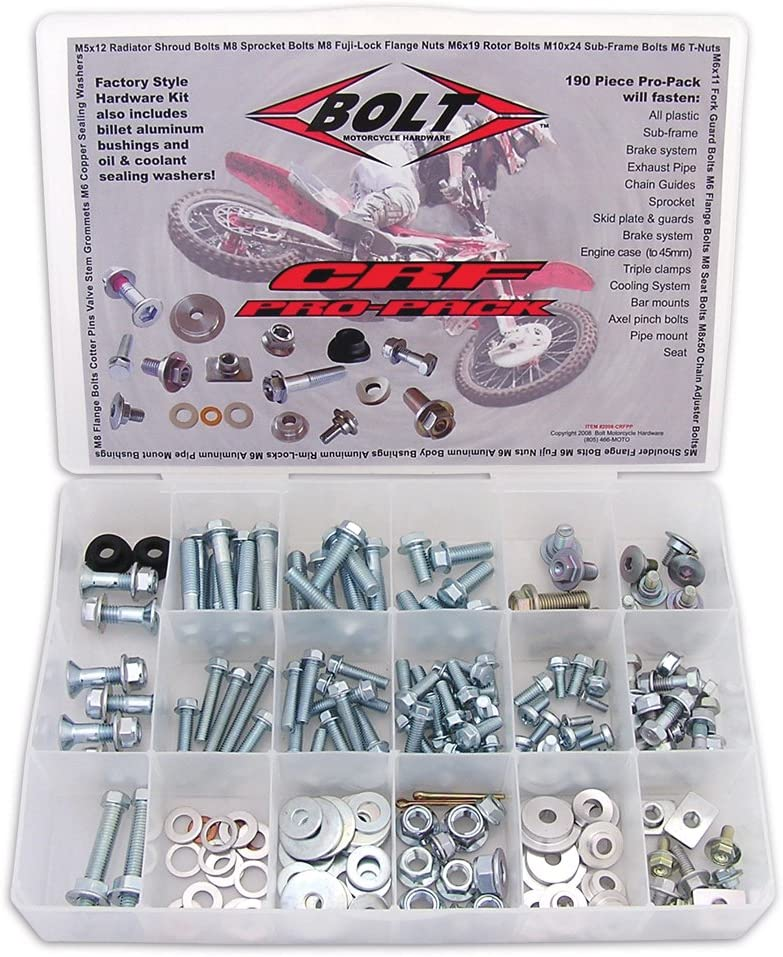 2008-CRFPP Pro Bolt Pack Bolt Motorcycle Hardware