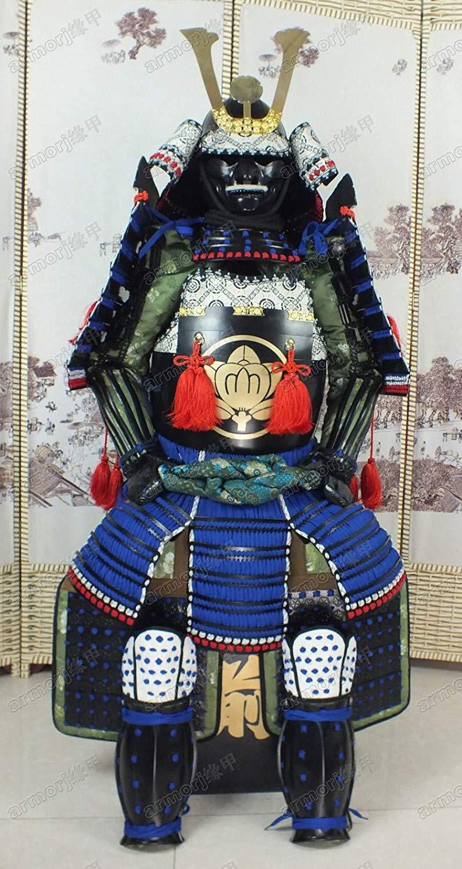 Traje De Armadura Japonés Usable Rüstung Samurai Negro ...