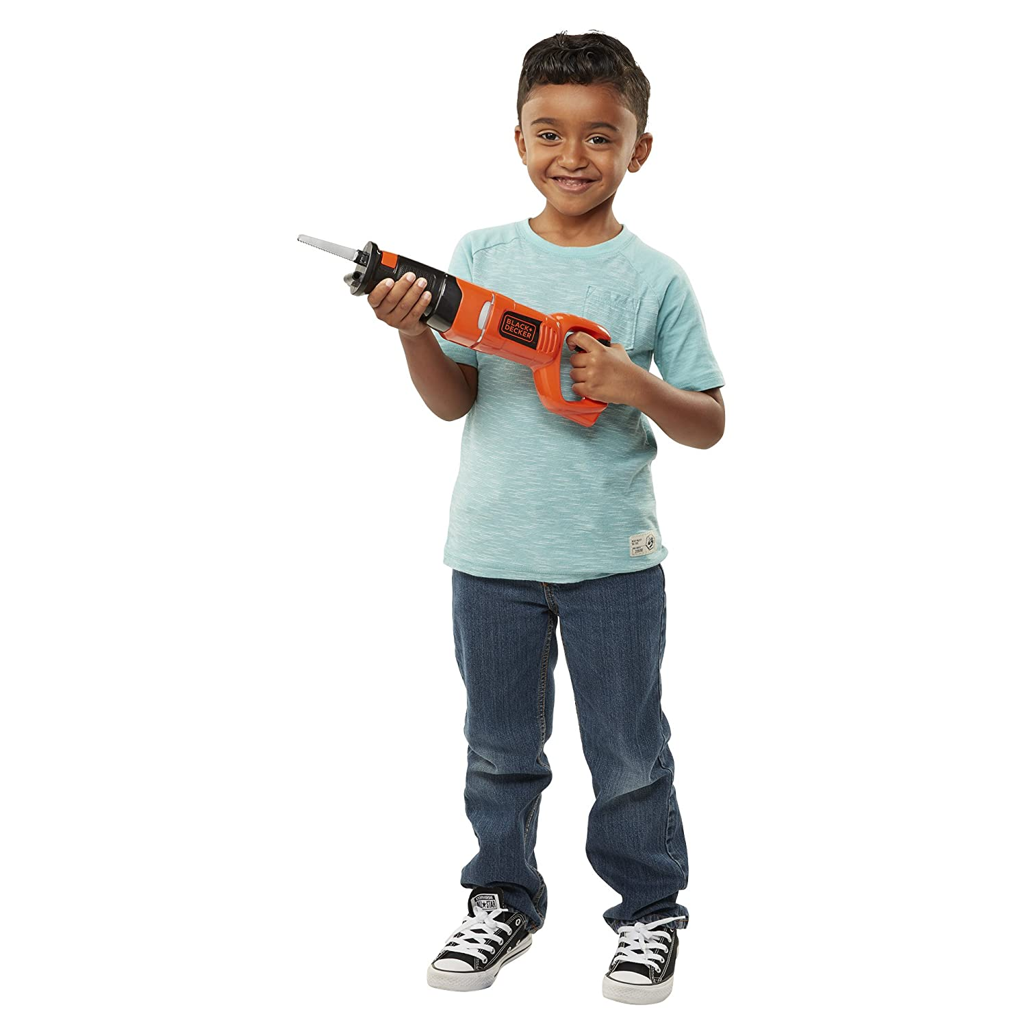 BLACK+DECKER Jr Jr. Reciprocating Saw Role Play Tools