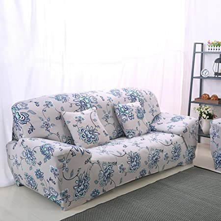 Enjoyable Yunhigh 2 Seater Sofa Cover Elastic Settee Loveseat Slipcover Stretch Double Sofa Protector Patterned Ibusinesslaw Wood Chair Design Ideas Ibusinesslaworg