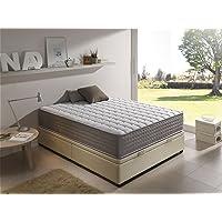 Living Sofa Matelas viscoélastique certifié graphène avec oreiller en cadeau Aloe Vera Toutes les tailles