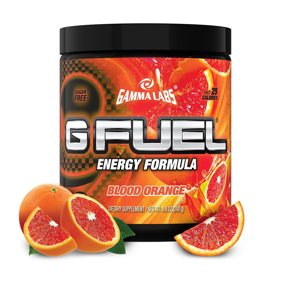G Fuel Blood Orange Tub (40 Servings) Elite Energy and Endurance Formula 9.8 oz