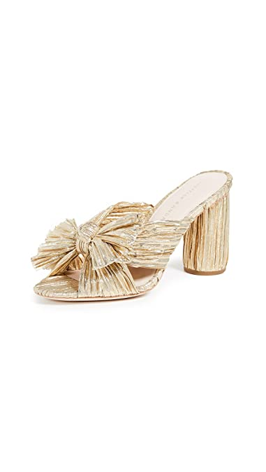 7d66703300f Amazon.com  Loeffler Randall Women s Penny Knot Slides  Shoes