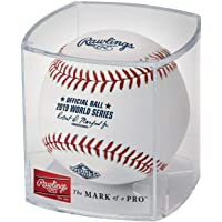 $29 » Rawlings Official 2019 World Series Leather MLB Baseball - WSBB19R - Washington Nationals vs Houston Astros - New in Rawlings Factory Cube