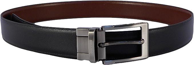 NILO Cinturón hombre MIGUEL BELLIDO piel clásico reversible negro ...