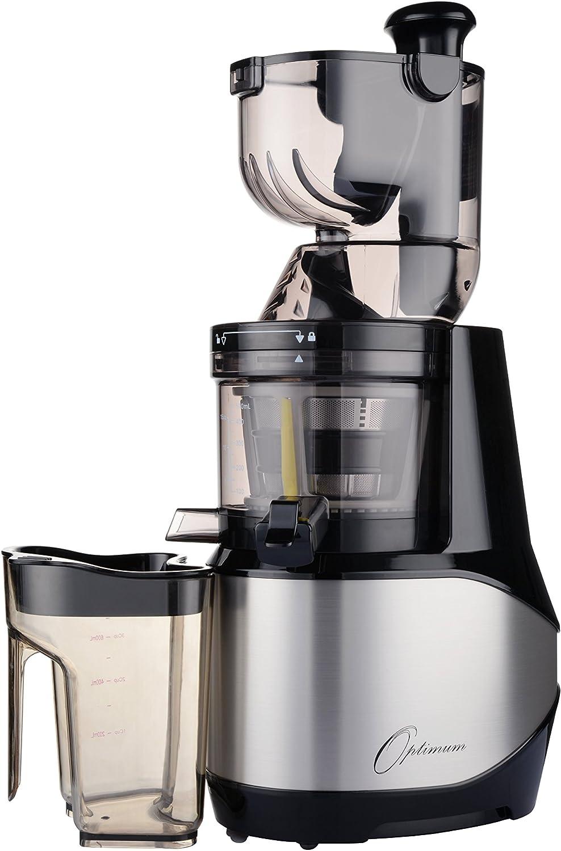 Optimum 700 Discreta kaltpressender Licuadora con 8 cm Bahía XXL 40 U/min, Slow juicer sin Centrifugadora, eléctrica kaltents After, fruta exprimidor, Robot de cocina lentamente drehend plata: Amazon.es: Hogar