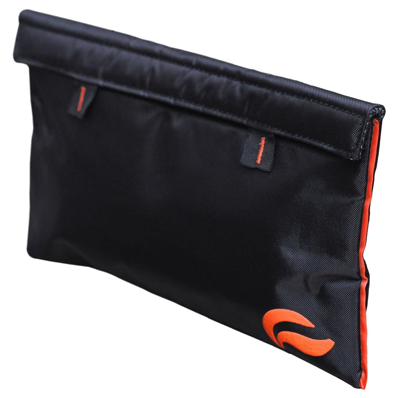 Black orange Skunk Mr Slick Smell Proof Bag 11 x6  US Patent Number D824,672