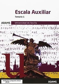 Temario 1 Escala Auxiliar Universidad de Sevilla