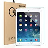 Tempered Glass Screen Protector,GARUNK for Apple iPad 2 / iPad 3 / iPad 4 9.7 Inch [9H HD Premium Tempered Glass],[0.26mm Thickness]99.9% Light Transmission, Most Durable
