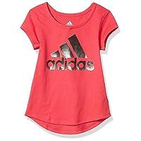 Girls' Short Sleeve Scoop Neck Tee T-Shirt